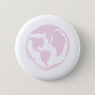 World Peace (Pink) Button