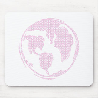 World Peace (Pink) Mouse Pad