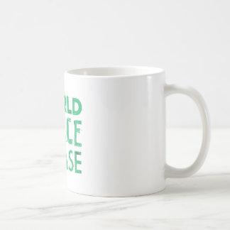 World Peace Please Mug