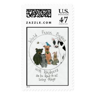 World Peace Postage