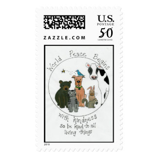 World Peace Postage