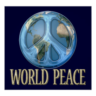 World Peace Poster