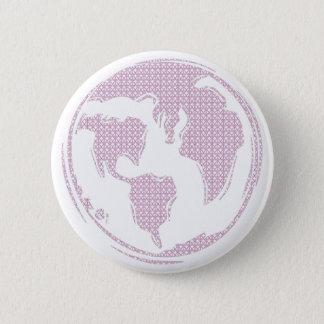 World Peace (Purple) Pinback Button