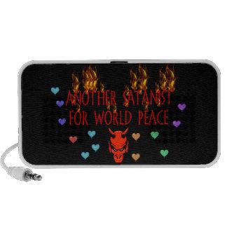 World Peace Satanist Travel Speaker