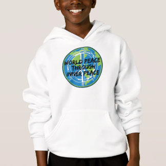 World Peace Through Inner Peace Hoodie