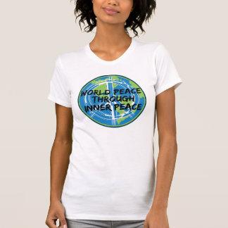 World Peace Through Inner Peace Tshirt