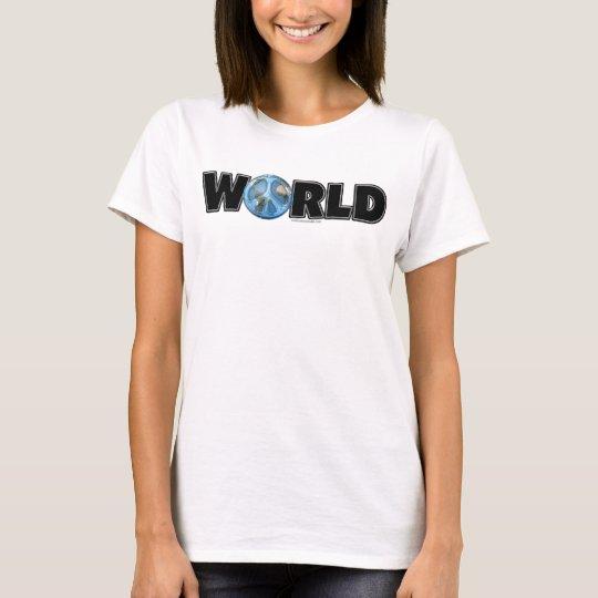 World Peace Too T-Shirt
