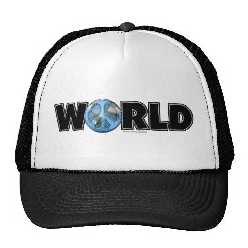 World Peace Too Trucker Hat