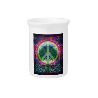 World Peace Tree of Life Drink Pitcher