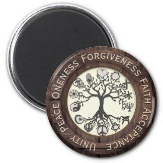World Peace Tree of Life Magnet