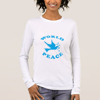 World Peace with Dove Long Sleeve T-Shirt