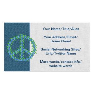 World Peas Business Card Template