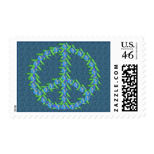 World Peas Postage Stamps