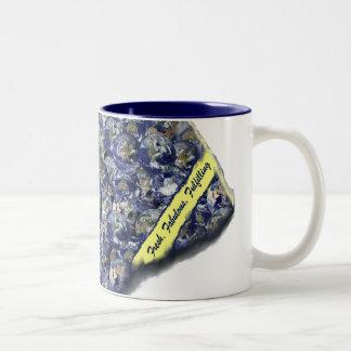 "world ""peas"" Two-Tone coffee mug"