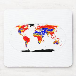 world ph mouse pad