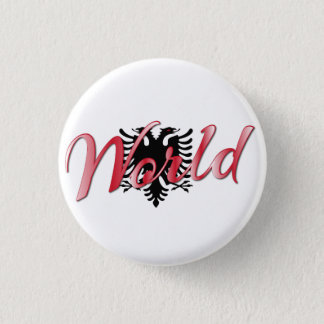 World Pinback Button