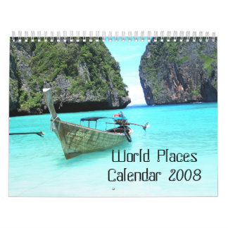 World Places Calendar 2008
