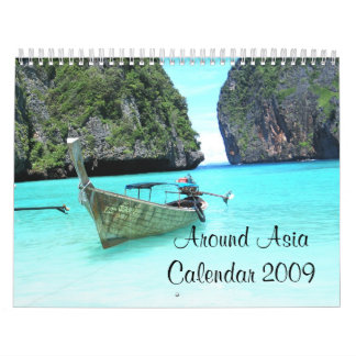 World Places Calendar 2009 - Customized