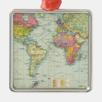 World political Map Ornament