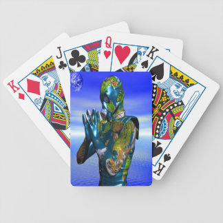 World Pollution Bicycle Playing Cards