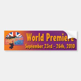 World Premiere Bumbersticker Bumper Sticker