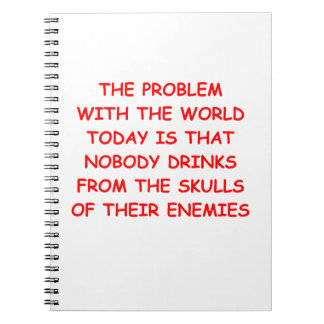 world problems note book