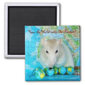 World Rat Day magnet