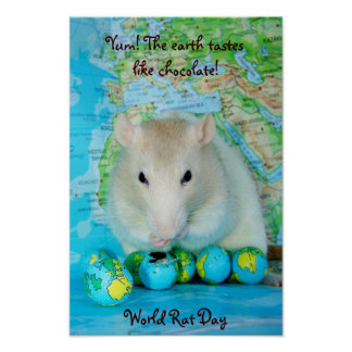World Rat Day poster