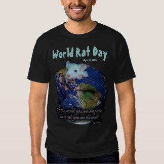 World Rat Day Shirt, version 2 Tee Shirt