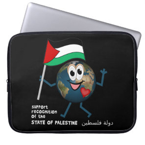 World Recognition of Palestinian Statehood Computer Sleeve
