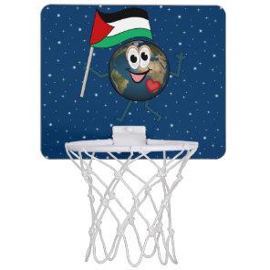 World Recognition of Palestinian Statehood Mini Basketball Hoop