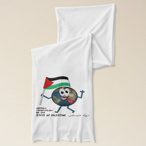 World Recognition of Palestinian Statehood Scarf