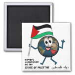 World Recoqnition of Palestinian Statehood Refrigerator Magnet