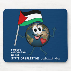 World Recoqnition of Palestinian Statehood Mouse Pad