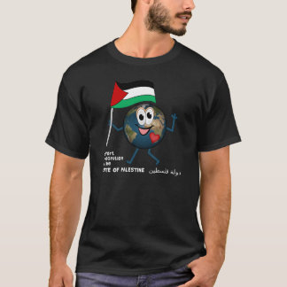 World Recoqnition of Palestinian Statehood T-Shirt
