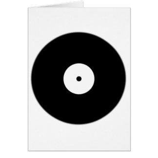 World Record Black Spot Dot Card