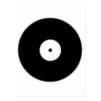 World Record Black Spot Dot Postcard