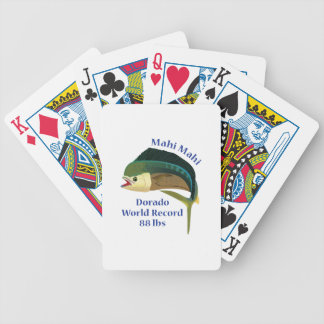 WORLD RECORD MAHI MAHI BICYCLE PLAYING CARDS