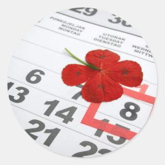 World Red Cross Day Classic Round Sticker