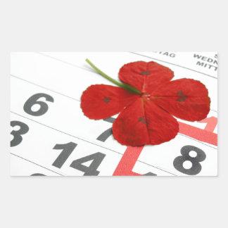 World Red Cross Day Rectangular Sticker