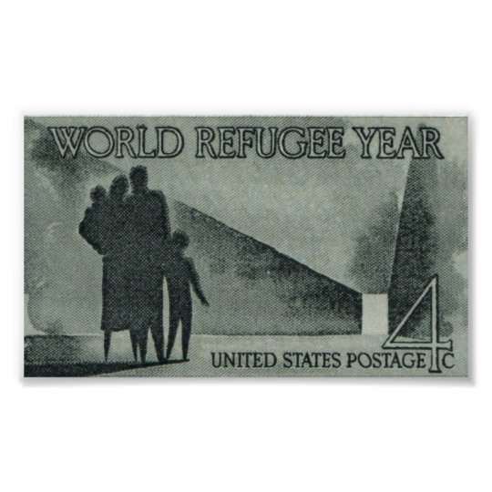 World Refugee Year Poster