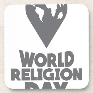 World Religion Day - Appreciation Day Coaster