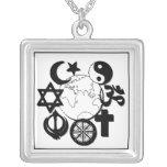 world-religion unity necklace