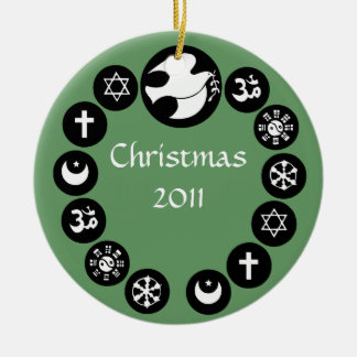 World Religions Holiday Ornament