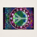 World Religions Peace Tree of Life Mandala Business Card (<em>$31.65</em>)