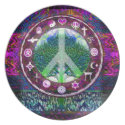 World Religions Peace Tree of Life Mandala Dinner Plate (<em>$26.35</em>)