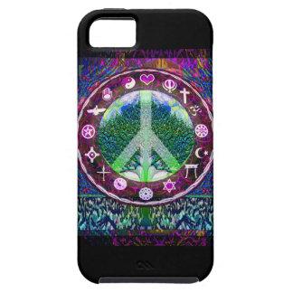 World Religions Peace Tree of Life Mandala iPhone SE/5/5s Case