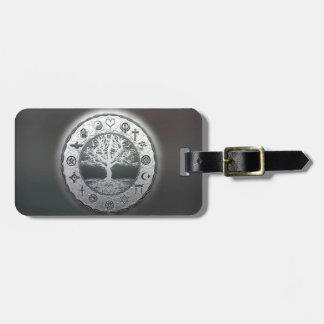 World Religions Tree of Life Bag Tag
