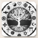 World Religions Tree of Life Drink Coaster (<em>$26.95</em>)