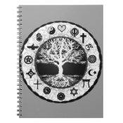 World Religions Tree of Life Spiral Notebook (<em>$13.70</em>)